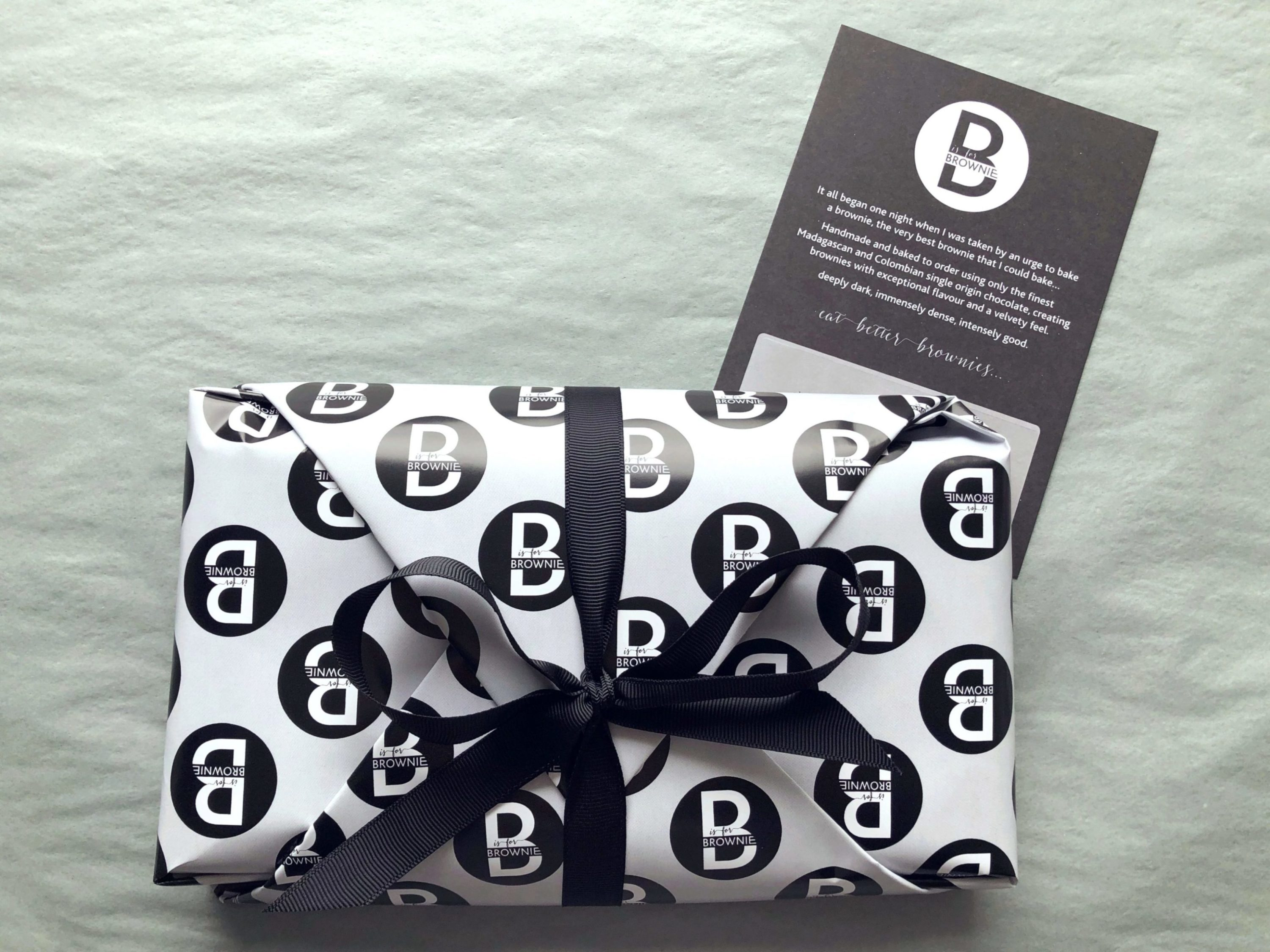 Gift Slab – Sea Salted Butterscotch Brownies – serves 10