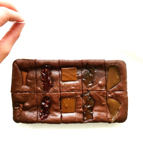 Gift Slab – Madagascan Collection Chocolate Brownies- serves 10