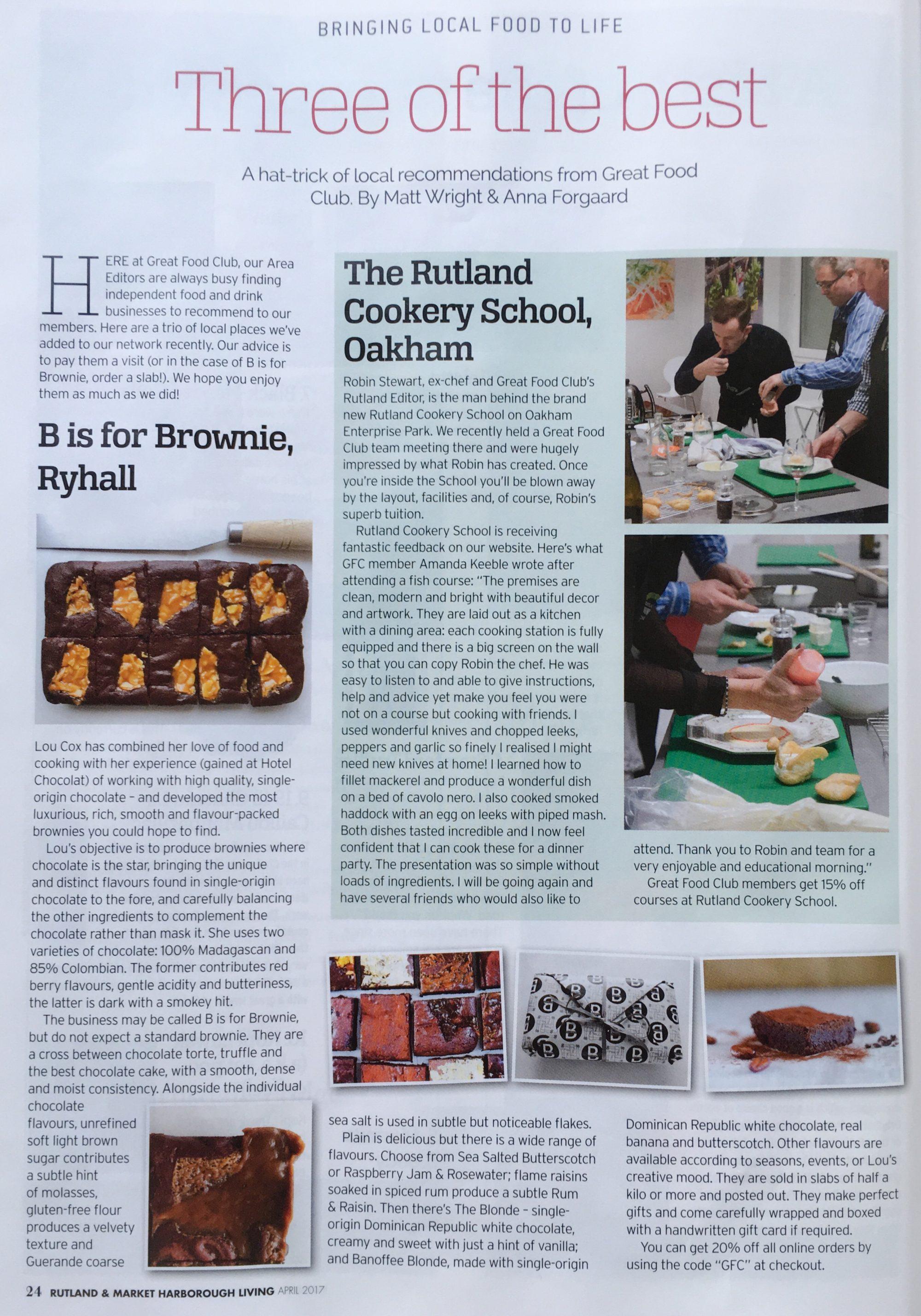 Rutland & Market Harborough Living