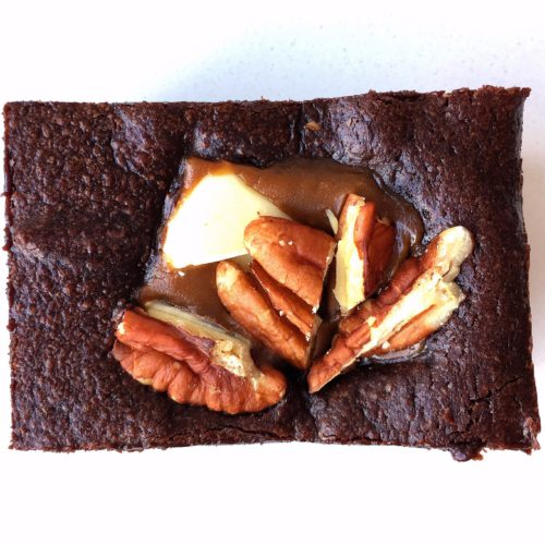 The Pecanutty Fudge Brownie – serves 10