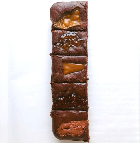 Frill Free Half Slab – Madagascan Collection Brownies – serves 5