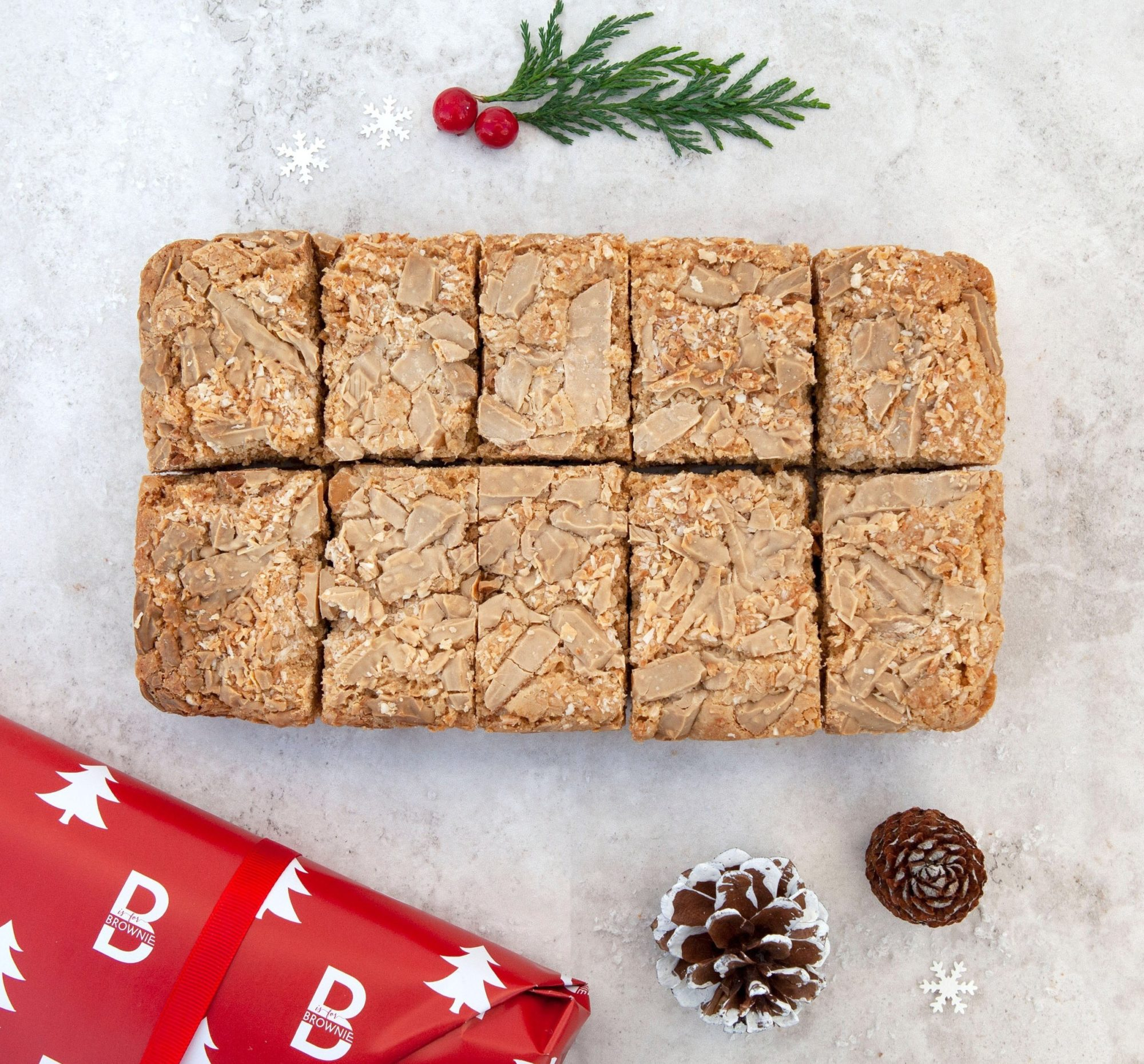 Totally Toasted Coconut Blondie – serves 10