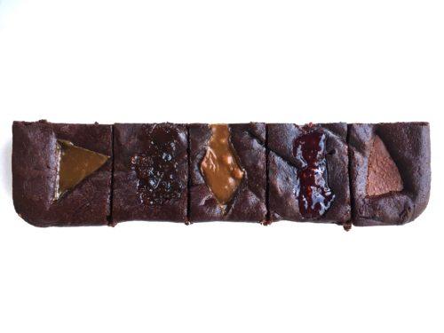 Half Slab – Madagascan Collection Brownies – serves 5