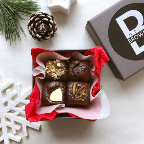 Festive Little Brownie Box (130g) gluten free
