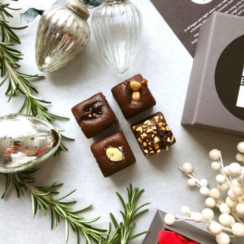Festive Little Brownie Box (130g) gluten free