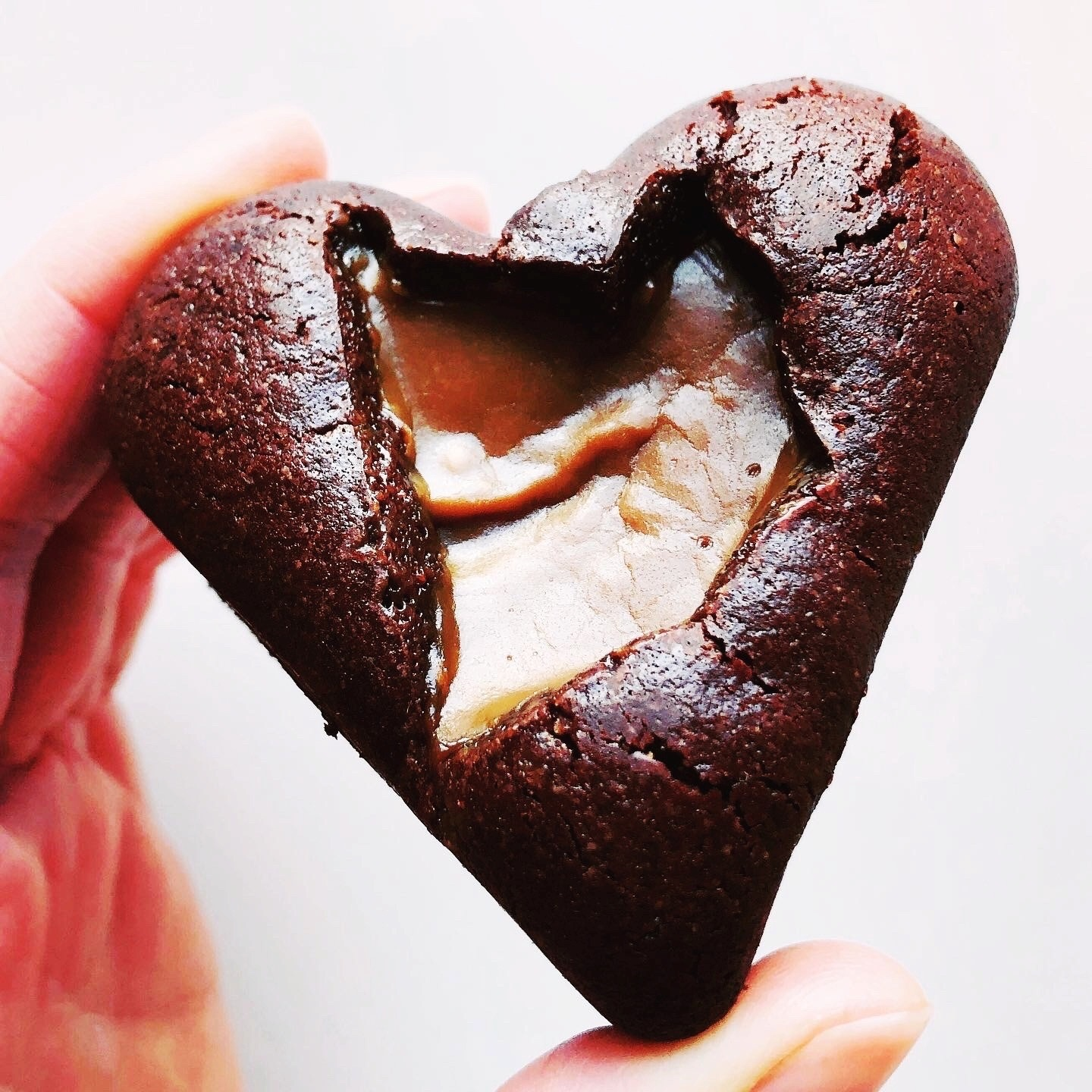 Fudge Love Brownie Heart – serves 1 to 2