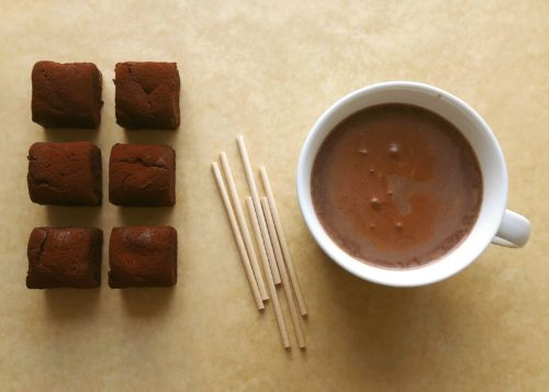 Brownie Dunker & Hot Chocolate Kit (6 servings)