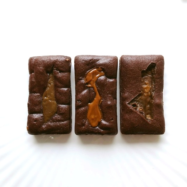 Brownie Bar Trio – (serves 3)