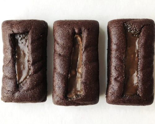 Letterbox Brownie Trio – (serves 3)