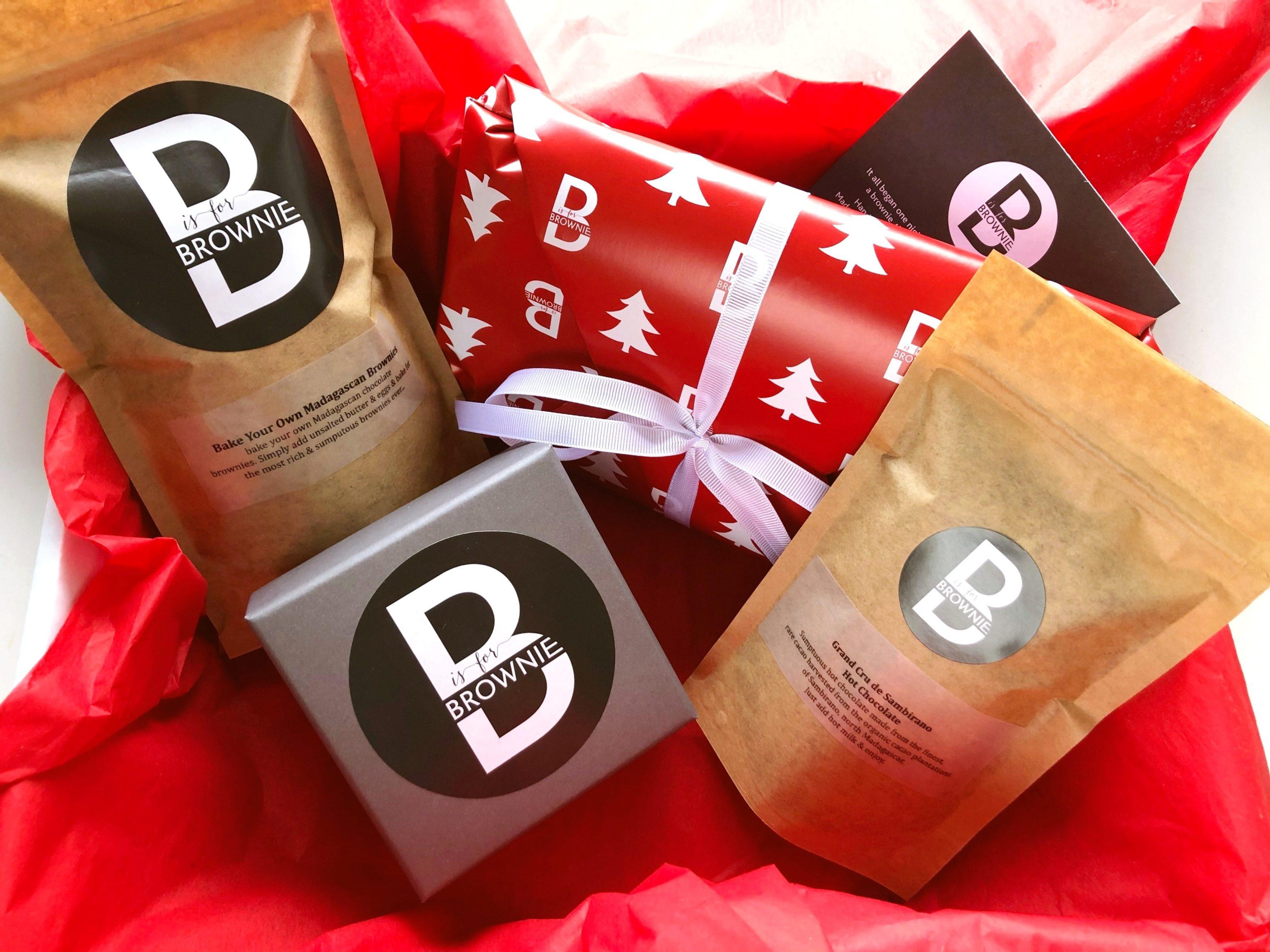 B is for Brownie Big Festive Box
