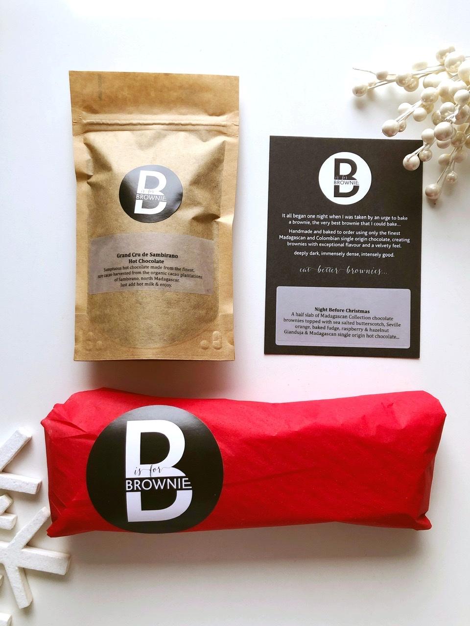 Night Before Christmas Brownies & Hot Chocolate – serves 5